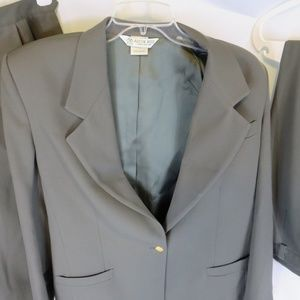 Austin Reed Jackets Coats Austin Reed Dark Olive Gren Women Skirt Suit Poshmark